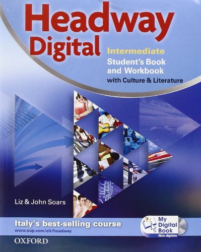 9780194755368: Headway digital. Intermediate. Student's book-Workbook. Con espansione online. Per le Scuole superiori. Con CD-ROM