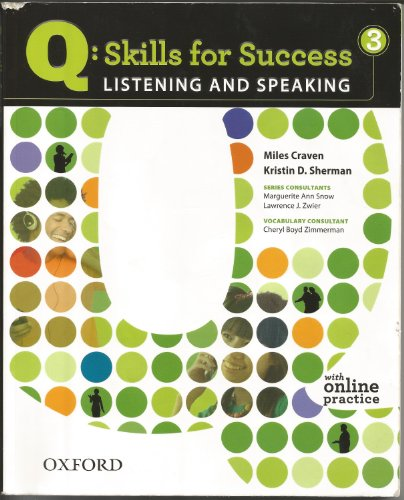 9780194756020: Integrated Skills Listening and Speaking 3 Student Book