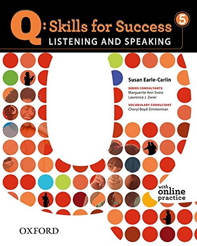 9780194756044: Q: Skills for Success 5 Listening & Speaking Student Book with Student Access Code Card