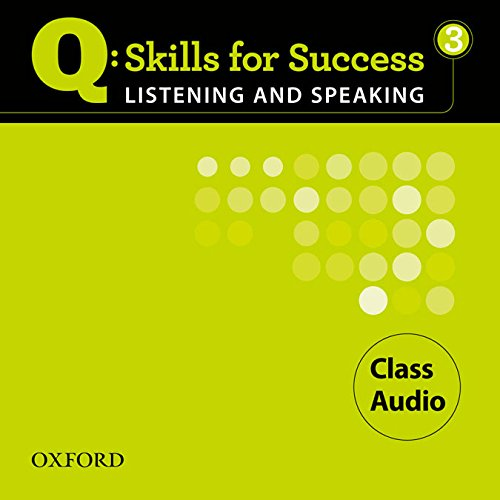 9780194756075: Q Skills for Success Listening and Speaking: 3: Class CD