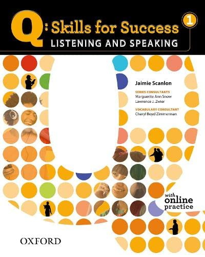 9780194756105: Q: Skills for Success 1 Listening & Speaking Student Book with Student Access Code Card