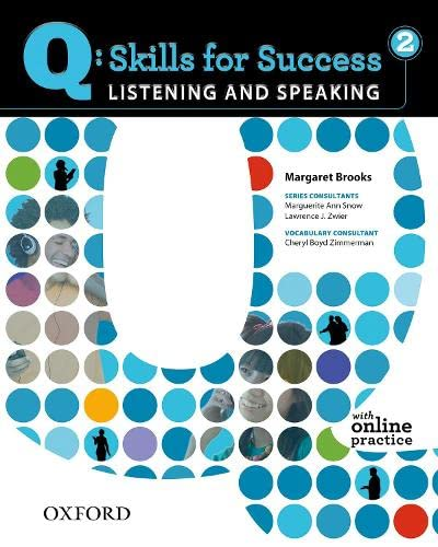 9780194756112: Q: Skills for Success 2 Listening & Speaking Student Book with Student Access Code Card