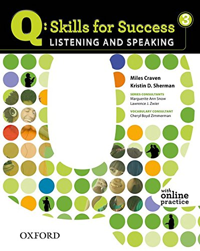 9780194756129: Q: Skills for Success 3 Listening & Speaking Student Book with Student Access Code Card