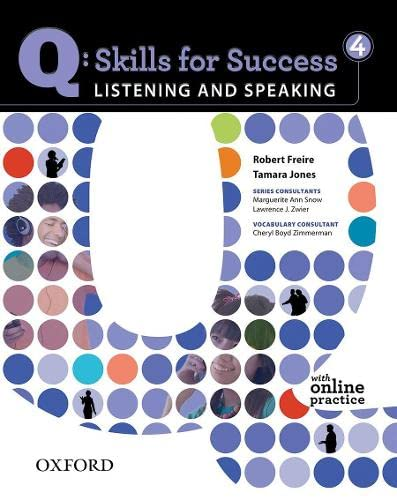 9780194756136: Q: Skills for Success 4 Listening & Speaking Student Book with Student Access Code Card
