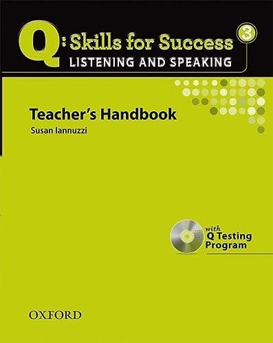 9780194756174: Q Skills for Success: Q Listening & Speaking 3: Teacher's Book Pack