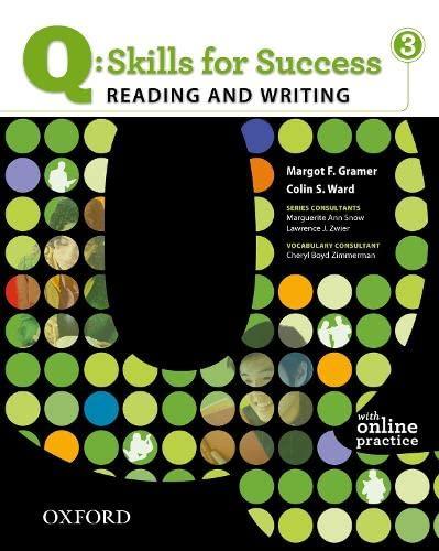 9780194756242: Q: Skills for Success- Reading & Writing 3