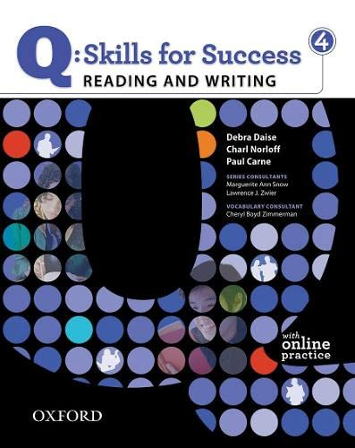 9780194756259: Q Skills for Success: Q Reading & Writing 4: Student's Book Pack