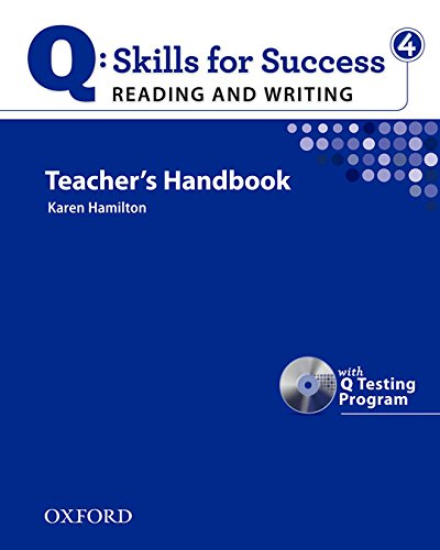 9780194756303: Q Skills for Success: Q Reading & Writing 4: Teacher's Book Pack