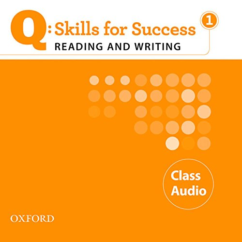 9780194756327: Q Skills for Success: Q Reading & Writing 1: Class Cd