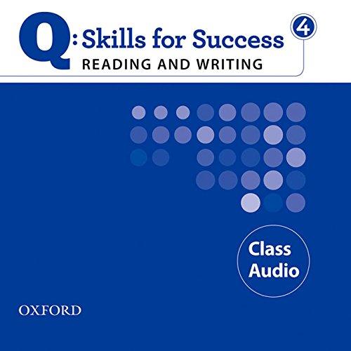 9780194756358: Q: Skills for Success 4 Reading & Writing Class Audio