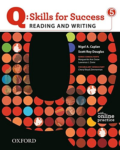 9780194756426: Q: Skills for Success 5 Reading & Writing Student Book with Student Access Code Card