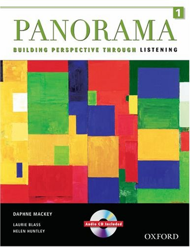9780194757126: Panorama 1 Student Book and Audio CD: Building Perspective Through Listening