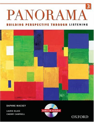 9780194757140: Panorama Listening 3 Student Book and Audio CD: Building Perspective Through Listening