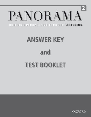 9780194757225: Panorama Listening 2 Teacher's Booklet: Building Perspective Through Listening
