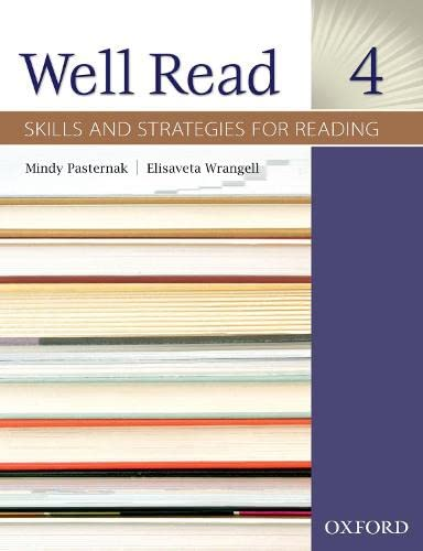 9780194761062: Well Read 4: Skills and Strategies for Reading, Student's Book