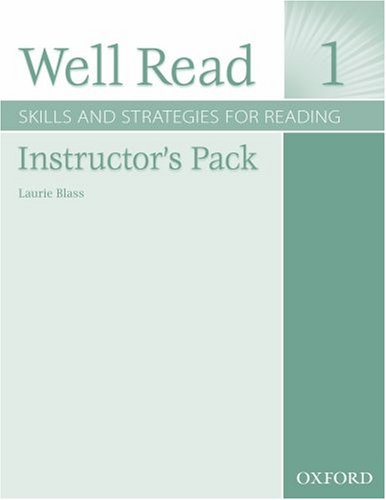 9780194761109: Well Read 1 Instructor's Pack: Skills and Strategies for Reading
