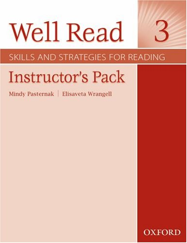 9780194761123: Well Read 3 Instructor's Pack: Skills and Strategies for Reading