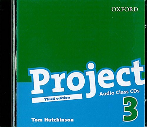 9780194763141: Project 3 Third Edition: Project 3: Class CD Edition 2008: Class Audio CDs Level 3 (Project Third Edition)