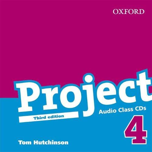 Project 4 Third Edition: Class Audio CDs: Hutchinson (author)