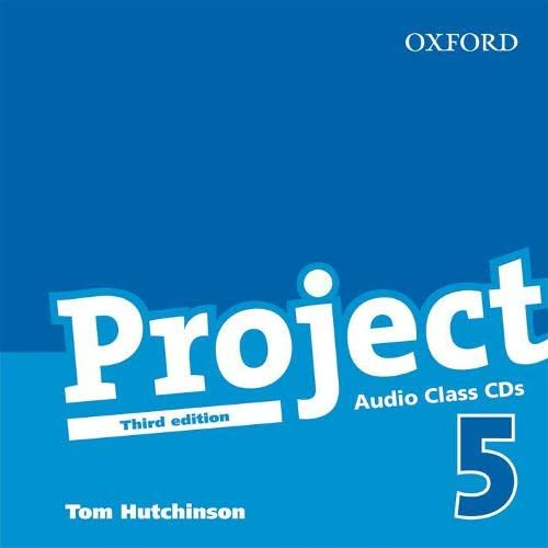 Project 5 : Class Audio CDs: Class Audio CDs Level 5 (0194763242) by Hutchinson, Tom
