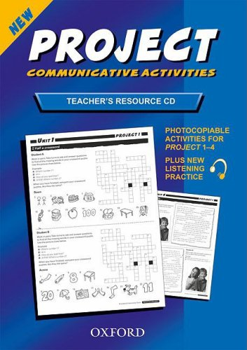 9780194763257: Project 1-4: Teacher's Resource Disk CD-ROM