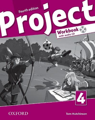 9780194764780: Project: Level 4: Workbook with Audio CD and Online Practice