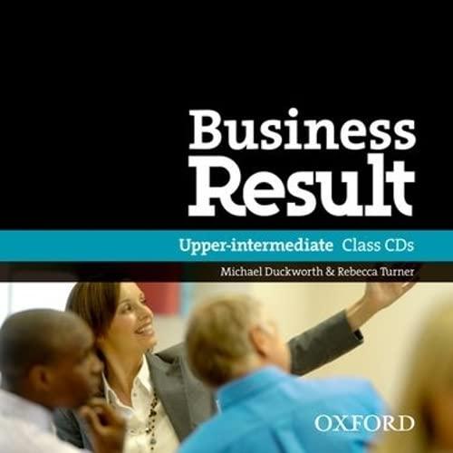 9780194768139: Business Result: Upper-Intermediate: Class Audio CD