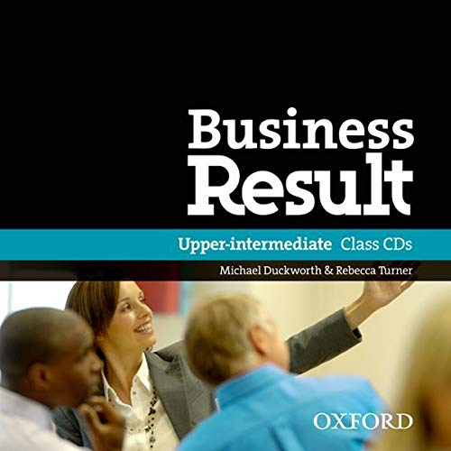 9780194768139: Business Result: Upper-Intermediate: Class Audio CD
