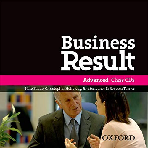9780194768269: Business Result: Advanced: Class Audio CD