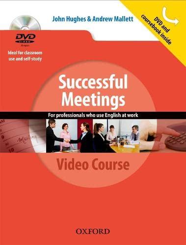 9780194768399: Successful meetings. Student's book. Per le Scuole superiori. Con DVD-ROM