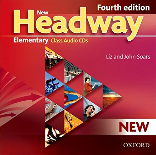 9780194769075: New Headway: Elementary Fourth Edition: Class Audio CDs