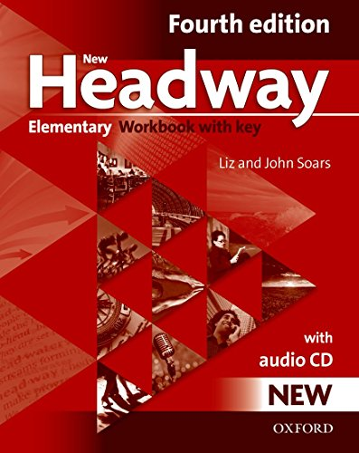 9780194769105: New headway elem wb+cd w/key Pack 4ed