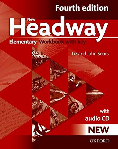 9780194769105: New Headway: Elementary Fourth Edition: Workbook + Audio CD with Key