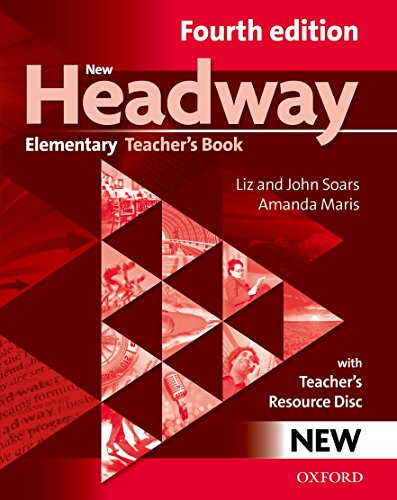 9780194769112: New Headaway Elementary : Teacher's book (1Cédérom)