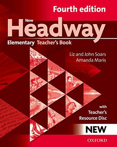 9780194769112: New Headway: Elementary Fourth Edition: Teacher's Book + Teacher's Resource Disc
