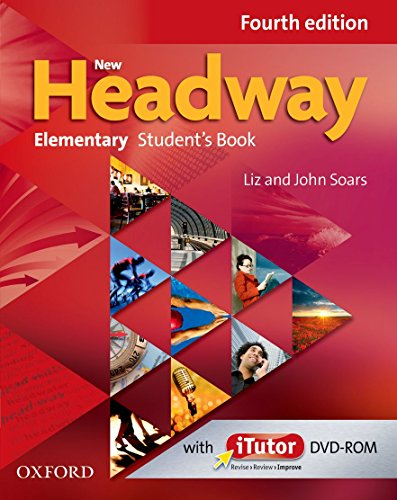 9780194769129: New Headway Elementary Fourth Edition: Student's Book and iTutor Pack - Tapa blanda (New Headway Fourth Edition)
