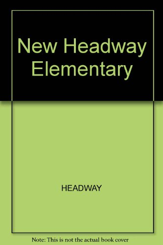9780194769327: New Headway Elementary