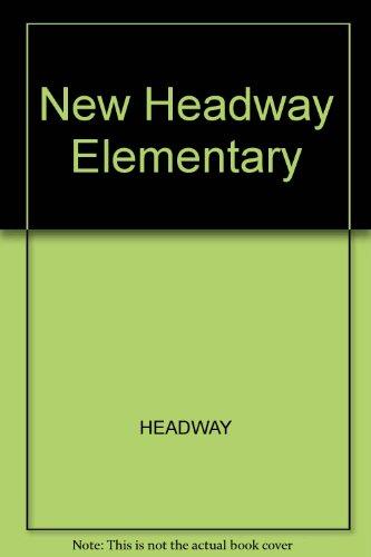 9780194769327: New Headway Elementary