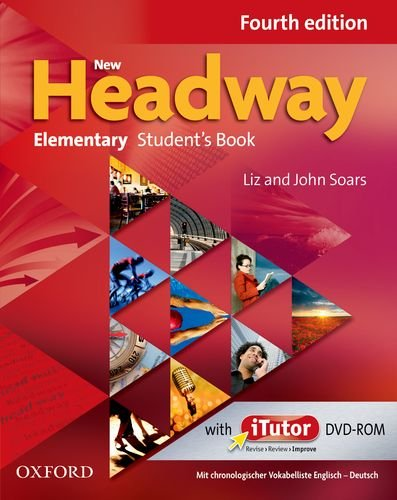 9780194769358: New Headway Elementary. Student's Book with Wordlist + DVD-ROM