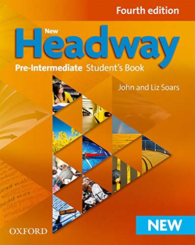 9780194769556: New Headway Pre-Intermediate Student's Book 4th Edition (New Headway Fourth Edition)