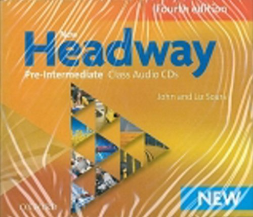 9780194769617: New Headway Pre-Intermediate: Class CD (3) 4th Edition (New Headway Fourth Edition)
