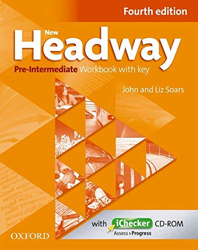 9780194769648: New Headway Pre-Intermediate: Workbook and iChecker With Key 4th Edition (New Headway Fourth Edition)