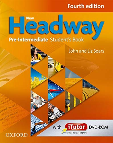 9780194769662: New Headway: Pre-Intermediate Fourth Edition: Student's Book and iTutor Pack