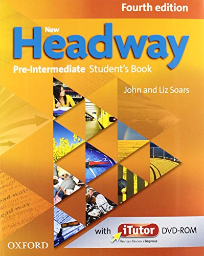 9780194769990: New Headway Pre-intermediate: Student's Book + Workbook with Key Pack 4E