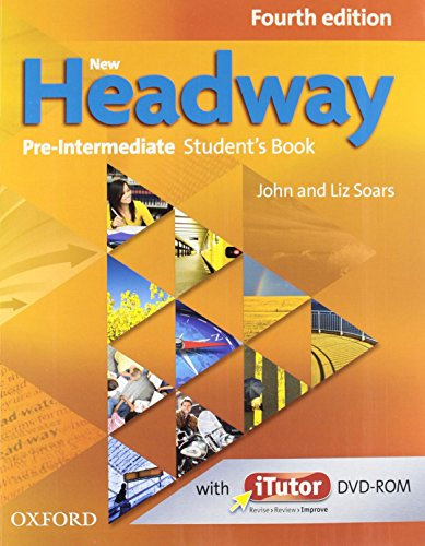 9780194770002: New Headway Pre-Intermediate: Student's Book and Workbook Without Answer Key Pack 4th Edition (New Headway Fourth Edition)