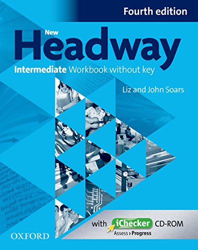 9780194770224: New Headway Intermediate Workbook Without Key & Ichecker CD-ROM Pack