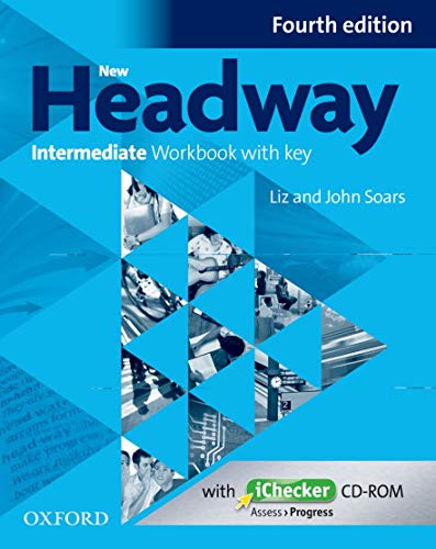 9780194770231: New Headway Intermediate Workbook with Key & Ichecker CD-ROM Pack