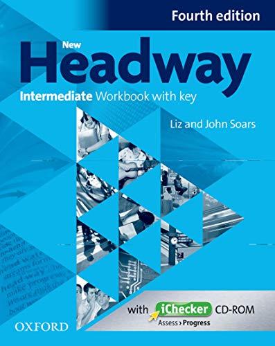9780194770231: New Headway Intermediate Workbook with Key & Ichecker CD-ROM Pack