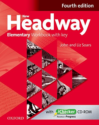 9780194770521: New Headway Elementary Workbook with Key & Ichecker CD-ROM Pack