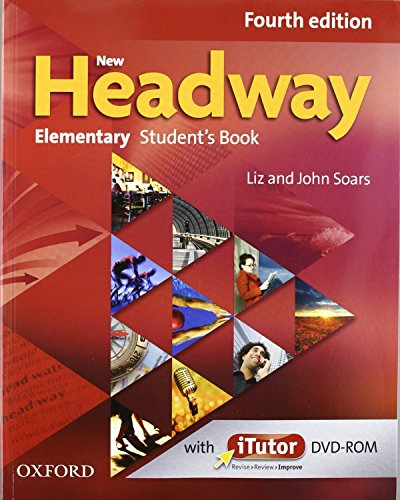 9780194770569: New Headway 4th Edition Elementary. Student's Book + Workbook with Key Pack